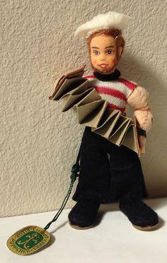 Vintage Miniature Ermey Erna Meyer Dollhouse Nautical Sailor MIG Doll Germany #Ermey