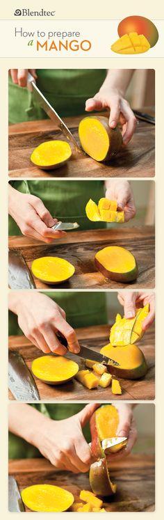 How to Prepare a Mango   Blendtec Blog