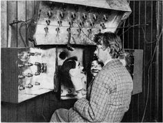 John Logie Baird and Stooky Bill. Television is older than you think. The first working television was developed in 1925. John Logie Baird was the first to put together components that made a transmittable moving picture possible. The British had full television service for those who could afford it at least five years before the U. S.