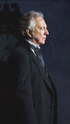 """Alan Rickman - for """"The Mummy"""" I would name his character Grosvenor, Helen's uncle. That neatly brings all of them together into the story."""