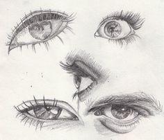 Eye references Artwork by Khantinka