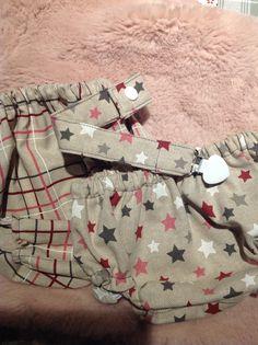 Culottes para bebé Handmade. Visita nuestro Instagram @silmanin