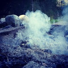 Pshhh... the fire fading down - Finland