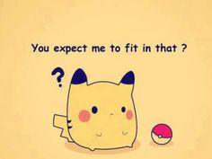 Pikachu so cute.