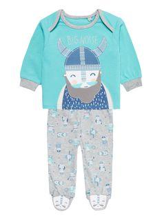 Baby Boys Blue Viking Pyjamas (0-24 months) | Tu clothing