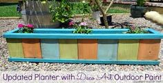 Image result for diy wood planters
