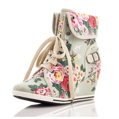 🎉HP🎉Pastel Floral Sneaker Wedges Brand new without tags. Images 2, 3 and 4 are taken from the Poshmark closet from which these were purchased.                                          👉                                                                             📱Instagram: @phinayi 💻Blog: theworldaccordingtoeve Bucco Shoes