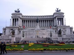Monument for Vittorio Emanuele II di Savoia, first king of Italy, Roma