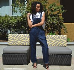 Maria Stanley * The Deanne Overall  * Made in USA