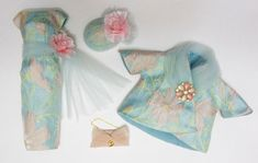 OOAK outfit made for Vintage Silkstone Barbie by D_B Handmade One Of A Kind