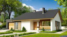Village House Design, House Front Design, Village Houses, Cottage Porch, Cottage Plan, Simple House Plans, House Floor Plans, Metal Barn Homes, Rural House