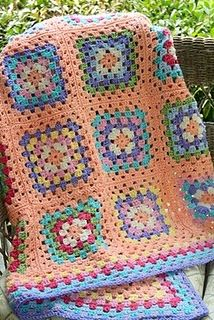 Granny Square for my youngest Daughter.