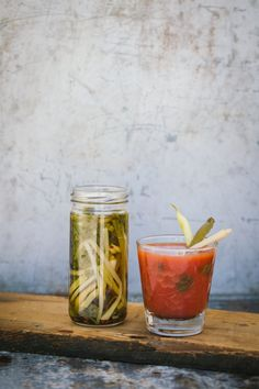 Spice up your next Bloody Mary with pickled ramps.