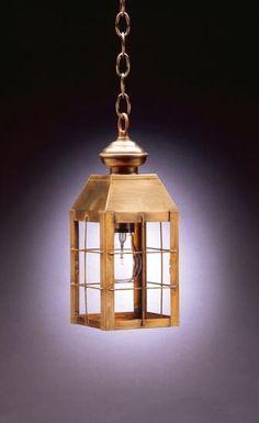 8312 H-Rod Hanging Lantern | Cape Cod Lanterns Chatham MA