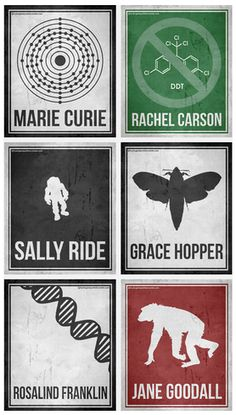 /lOVE these powerful printables about women in science
