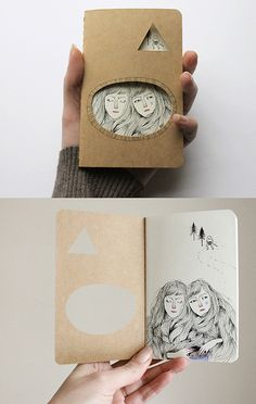 Goblin Market journal by Heidi Burton / Making Strangers, via Flickr