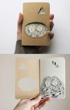 Goblin Market journal by Heidi Burton / Making Strangers, via Flickr