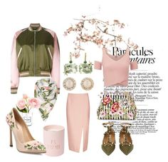 """English Rose✨"" by toosweetpepper on Polyvore featuring Alexander McQueen, Ted Baker, Chanel, Sharon Khazzam, Canopy Designs, Dolce&Gabbana, Valentino, C/MEO COLLECTIVE, Kate Spade and Lipsy"