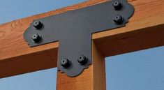 Bring both design elegance and structural strength to your outdoor living areas with Simpson Strong-Ties new Outdoor Accents® line of decorative wood connectors and fasteners @strongtie