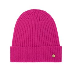 Mulberry Gift Kaleidoscope | Pink - Rib Beanie in Mulberry Pink Camel Hair