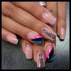 Young nails acrylic design notpolish