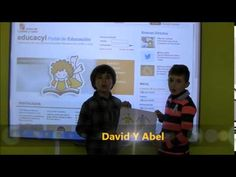 Poesía de Gloria Fuertes. David y Abel, alumnos de 1º de Ed. Primaria del CEIP San Gil (Cuéllar. Segovia)
