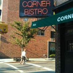 corner bistro, nyc in the west village @ 331 West 4th Street  New York, NY 10014 #(212) 242-9502. small place, super fun and great burgers.