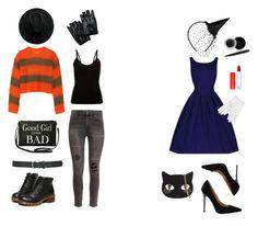 """handmade halloween"" by explorer-14442013394 on Polyvore featuring мода, MM6 Maison Margiela, H&M, Torrid, Chicnova Fashion, Topshop, Skinnydip, Maybelline, Mary Kay и M&Co"