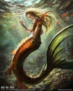 Mermaid from Mobius Final Fantasy