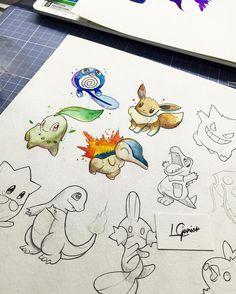 Vem mais por ae  • #pokemon #inkdomus #lcjunior #draw #arts_help #arts_gallery #sketch #watercolor