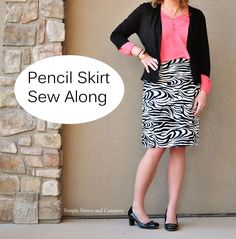 pencil skirt sew along - 2 part tute with pics and great explanations for each step of drafting your own personalized pattern