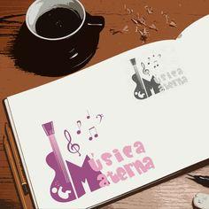 Criação de logotipo para Música Materna por Foco Design & Gráfica.