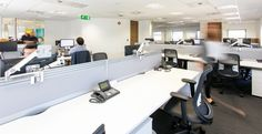 Case study office refurbishment of Ultimate Finance Cool office design fitout by Interaction.