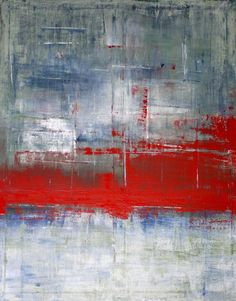 "Saatchi Online Artist: CHRISTIAN HETZEL; Acrylic, 2010, Painting ""red"""