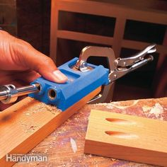 Even a novice can build nice cabinets. Make tight, strong wood joints quickly and easily with pockets screws. No clamps, no dowels. We show you how to do it in two steps.