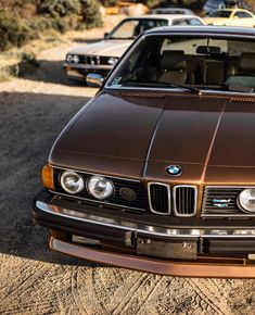 Best classic cars and more! Classic European Cars, Bmw Classic Cars, Bmw 635 Csi, Bmw Old, Carros Bmw, Bmw Series, Gt Cars, Race Cars, Vehicles