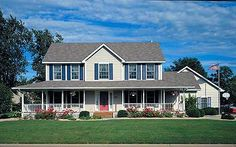 Plan W73069HS: Photo Gallery, Colonial, Traditional, Country, Farmhouse House Plans & Home Designs