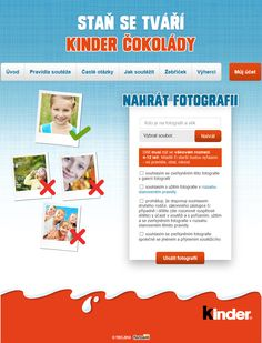 Kinder Chocolate 2014: Become the face of Kinder Chocolate