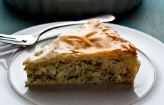 Greek-Style Kohlrabi Pie or Gratin With Dill and Feta festa;recipes with feta;spinach and feta; Risotto, Phyllo Dough, Pizza, No Bake Pies, Appetizer Recipes, Cheese Recipes, Chicken Recipes, Food Processor Recipes, Favorite Recipes