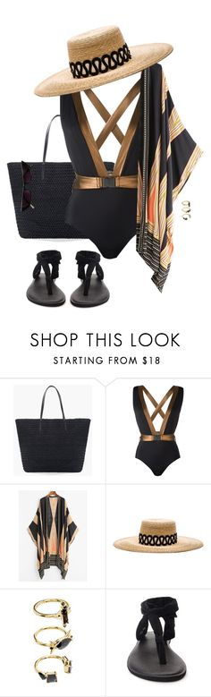 """Extra"" by ccoss on Polyvore featuring Chico's, MOEVA, Eugenia Kim, Noir Jewelry and sanuk"