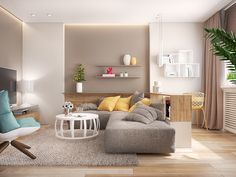 30x een kleine woonkamer + must haves   Pinterest   Living rooms ...