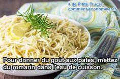 Le Truc Malin Pour Donner du Goût aux Pâtes Facilement.