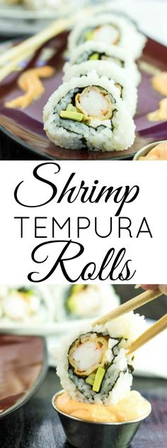 Easy, tasty, delicious and deep-fried! These Shrimp Tempura Rolls are a great addition to any dinner party! So we got a new Asian food market in our town! Do you know how excited I was, I visited it twice in two days and just kept buying things. If you haven't[Read more]