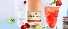 Erdbeer-Rhabarber Alkoholfrei