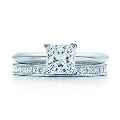 Tiffany & Co.    Engagement Ring & Wedding Band set