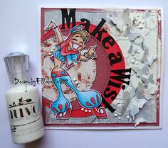 Nuvo, KennyK, Stamps, Embossing, copic, coloring, scrapberrys