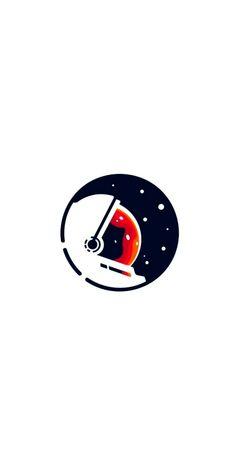 Trendy Wallpaper, Cool Wallpaper, Mobile Wallpaper, Wallpaper Backgrounds, Iphone Wallpaper, Space Illustration, Astronaut Illustration, Astronauts In Space, Minimalist Wallpaper