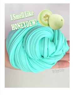 Honeydew is so good Slimy Slime, Edible Slime, Slime No Glue, Glitter Slime, Food Slime, Diy Crafts Slime, Slime Craft, Cool Slime Recipes, Easy Slime Recipe