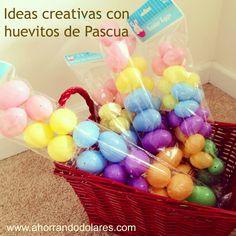 Ideas creativas para decorar con huevitos de Pascua sin gastar mucho dinero - DIY