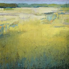 """Early at the Marsh"" - Jeannie Sellmer, Oil on panel, 24"" x 24"""
